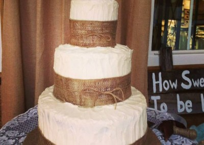 3 Tier Country Style Cake