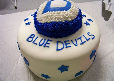Blue Devils Layer Cake