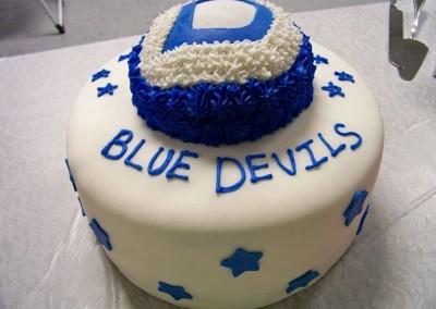 Blue Devils Layer Cake