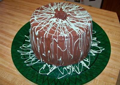 Choco Mint Tube Cake
