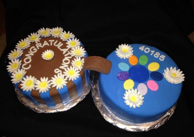 Girl Scout Cross Over Cake
